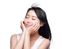 Beauty Skin care concept Stock Image