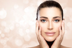 Beauty and Skin Care Concept Royalty Free Stock Photos