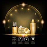Beauty skin care set Royalty Free Stock Photos