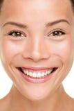 Beauty skin care woman closeup stock image
