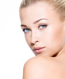 Beauty  skin of face Royalty Free Stock Photo