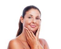 Beauty skin treatment Stock Photography