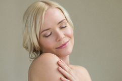 Beauty skincare Royalty Free Stock Photography