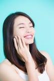 Beauty skincare woman Royalty Free Stock Photos