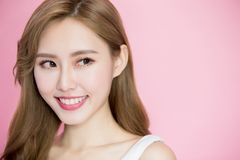 Beauty skincare woman Stock Photos