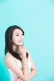 Beauty skincare woman Royalty Free Stock Photo