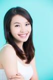 Beauty skincare woman Royalty Free Stock Image