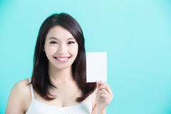 Beauty skincare woman Stock Image