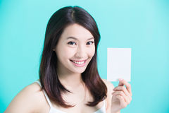 Beauty skincare woman Stock Photography