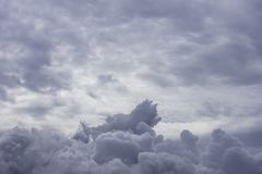 The beauty of the sky and the rain cloud in the day time.  stock photography