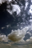 Beauty sky with white clouds great as background. Royalty Free Stock Photo