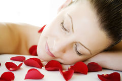 Beauty sleep royalty free stock images