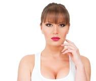 Beauty Sleeveless Royalty Free Stock Photo