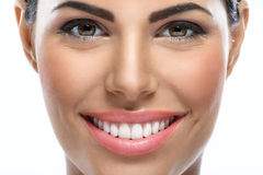 Beauty with smile Royalty Free Stock Image