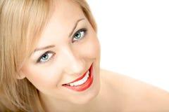 beauty smiling Στοκ φωτογραφίες με δικαίωμα ελεύθερης χρήσης