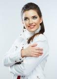 Beauty smiling woman portrait. Stock Images