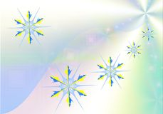 Beauty snowflake. Royalty Free Stock Photo