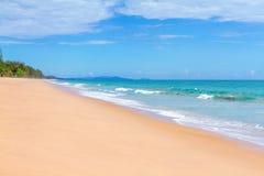 Beauty soft  beach Royalty Free Stock Photo
