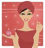 Beauty sortie de bain Stock Images