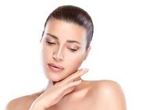 Beauty spa γυναίκα Έννοια φροντίδας δέρματος Στοκ Εικόνες