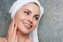 Beauty at spa Royalty Free Stock Images
