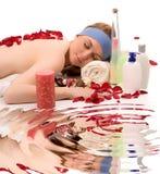 Beauty spa behandeling Stock Foto's
