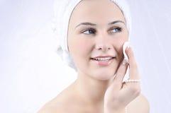 Beauty spa behandelingsvrouw Royalty-vrije Stock Afbeeldingen