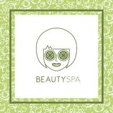Beauty spa design Stock Images