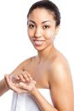 Beauty spa girl Royalty Free Stock Photo