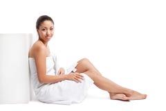 Beauty spa girl Stock Photo