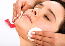 Beauty and Spa - Girl Royalty Free Stock Images