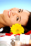 Beauty and Spa - Girl Stock Photo