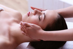 Beauty and spa. Beauty. Girl in the spa salon Royalty Free Stock Photos
