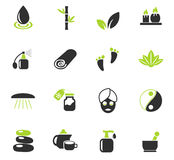 Beauty and spa icon set Royalty Free Stock Images