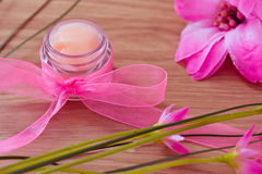 Beauty and spa lotions and treatments Stock Photo
