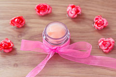 Beauty and spa lotions and treatments Stock Photography