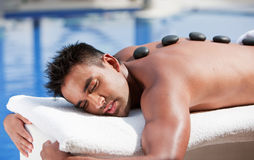 Beauty and Spa - Man Royalty Free Stock Images