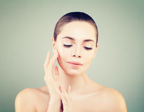 Beauty Spa Model Portrait Royalty Free Stock Images