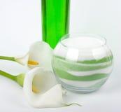 Beauty spa oils Royalty Free Stock Photography