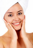 Beauty and spa portrait Stock Images