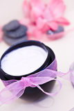 Beauty and spa relaxing wellness treatments Royalty Free Stock Photos