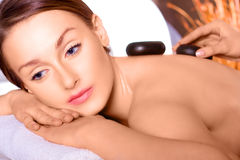 Beauty in the spa salon Royalty Free Stock Photo
