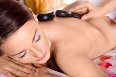 Beauty in the spa salon Royalty Free Stock Image