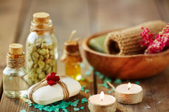Beauty spa Royalty Free Stock Images