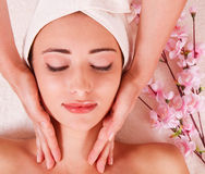 Beauty spa treatmen Stock Images