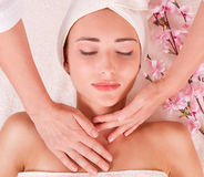 Beauty spa treatment Royalty Free Stock Photo