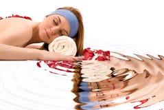Beauty spa treatment Stock Image
