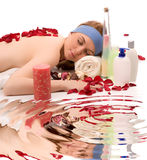 Beauty spa treatment Stock Photos