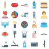 Beauty and Spa Vector Icons Use for Beauty Salon and spa Projects vector illustration