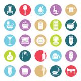 Beauty and Spa Vector Isolated Icons Editable stock illustration